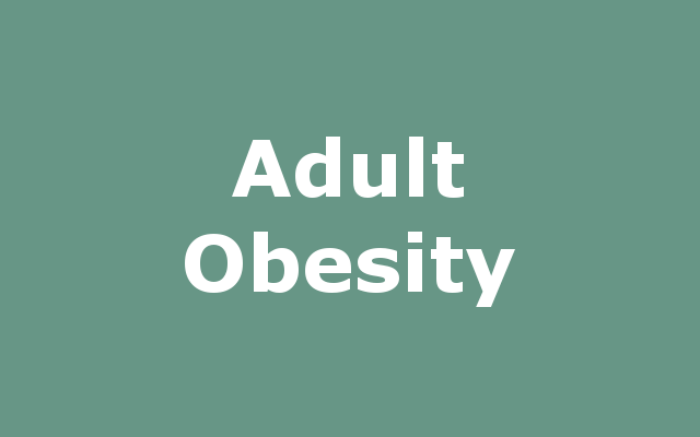Adult Obesity report link