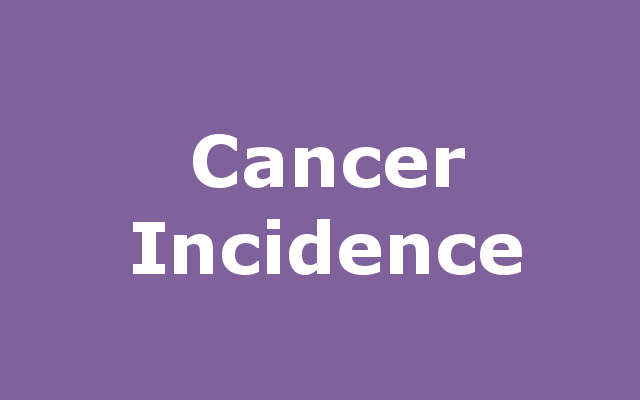 Cancer Incidence report link
