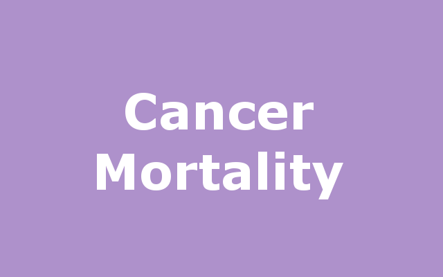 Cancer Mortality report link