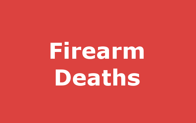 Firearm-related Death report link