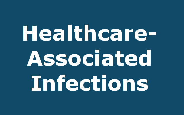 Health Care-Associated Infections report link