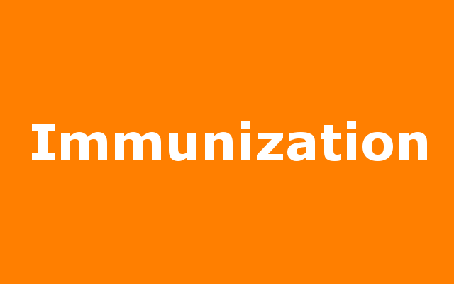 Childhood Immunizations report link