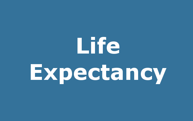 Life Expectancy report link