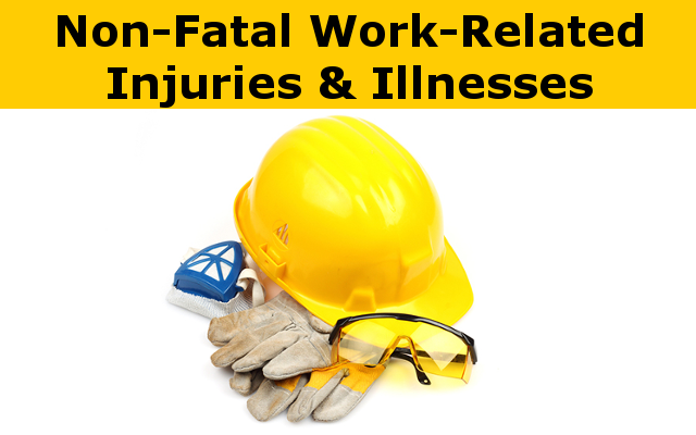 Non-Fatal Work-Related Injuries and Illnesses report link