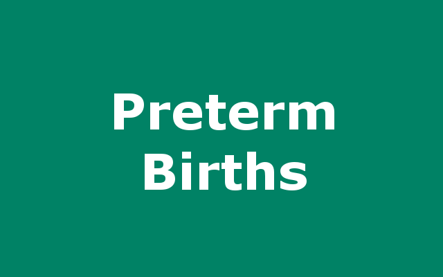 Preterm Birth report link