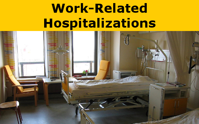 Work-Related Hospitalizations report link